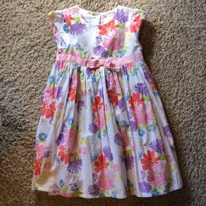 Gymboree 5T floral dress